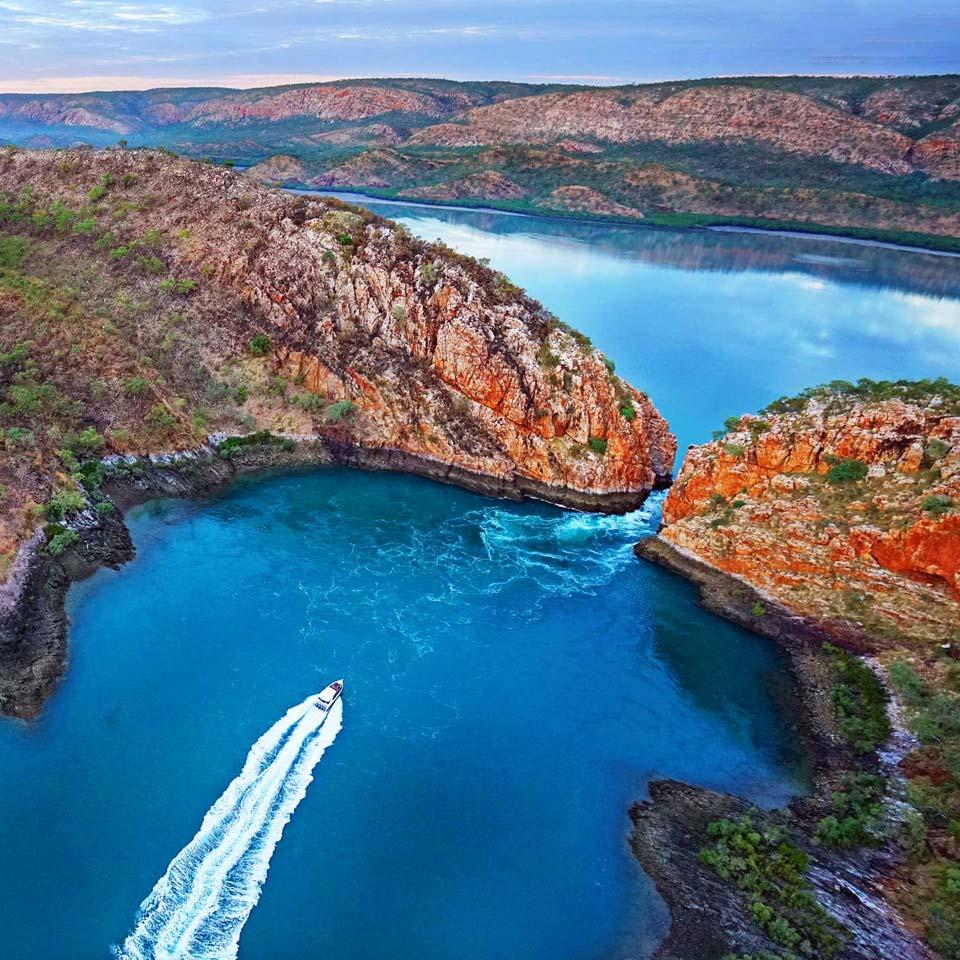 Horizontal Falls Kimberley WA